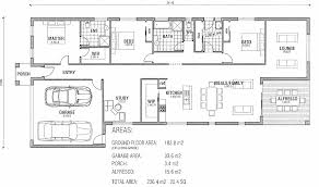 Floor Plan Blueprints Free by One Story House Plans Single Story Modern House Floor Plans One