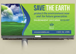 environment eco billboard template by owpictures graphicriver