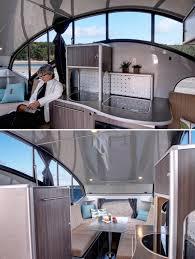 Camper Trailer Interior Ideas The Coolest Modern Rvs Trailers And Campers Design Milk