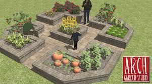 raised vegetable garden diy home outdoor decoration
