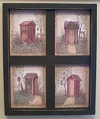Outhouse Bathroom Ideas by Rustic Outhouse Bathroom Decor Space Saver Toilet Shelf Storage