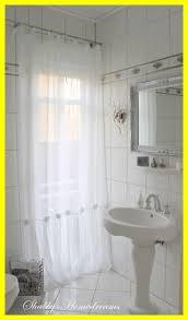 Country Chic Shower Curtains Shabby Chic Bathroom Curtain Ideas Home Curtain Ideas
