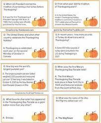 thanksgiving trivia brain trivia thanksgiving