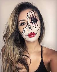 21 easy diy halloween makeup looks scary clowns halloween