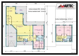 plan de maison de plain pied avec 4 chambres plans de maisons constructeur deux sèvres