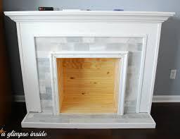 Build Faux Fireplace Faux Fireplace Aifaresidency Com