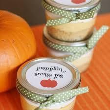 pumpkin pie mini jar gifts thanksgiving giving tip junkie