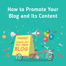 how to promote your blog content