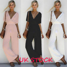 evening jumpsuits womens evening jumpsuit ebay