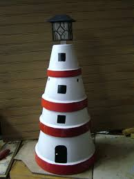 Wooden Solar Lights by Clay Pot Solar Light House Looks So Easy To Make Water U0027s Edge