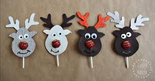 rudolph lollipop nosed reindeer u2013 danya banya