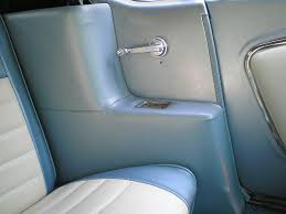 mustang quarter 1965 1968 mustang convertible quarter panel trim light blue