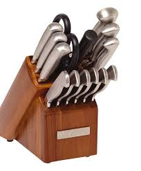 kitchen knives block sabatier 15 hollow handle knife block set reviews wayfair