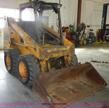 mustang bobcat 1986 mustang omc552 skid steer item c4096 sold april 10