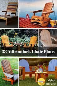 Diy Adirondack Chairs 38 Stunning Diy Adirondack Chair Plans Free Mymydiy