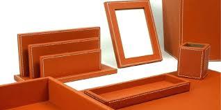 parure de bureau en cuir parure de bureau cuir front parure de bureau cuir laurige