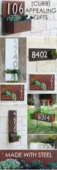 home depot planters signs address numbers stunning home number signs modern house