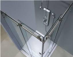 Glass Shower Sliding Doors Frameless Frameless Sliding Glass Shower Doors Versus Glass Door Frameless