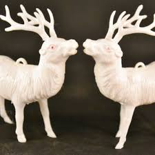 shop vintage reindeer decorations on wanelo