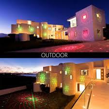 christmas spotlights online shop laser projector lights green moving starry sky
