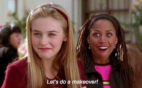 Clueless Movie Meme - 20 iconic movie makeovers that continue to inspire