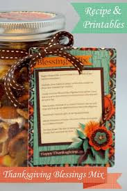thanksgiving blessings mix recipe printables and a freebie