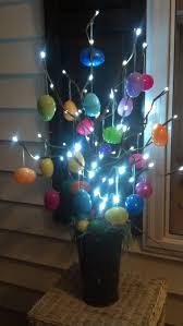 Outdoor Easter Decorations On Pinterest by Led Easter Egg Tree Easter Ideas Pinterest Easter Egg And