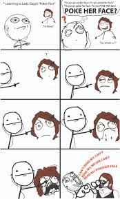 Rage Meme Comics - poke her face rage comics know your meme