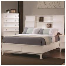 bed with bookcase headboard best shower collection