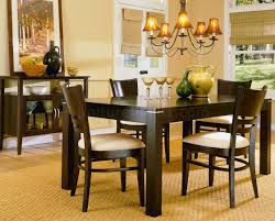 espresso casual dining room set 628 low sheen espresso casual dining room table w options