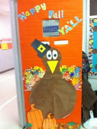 thanksgiving classroom door kindergarten