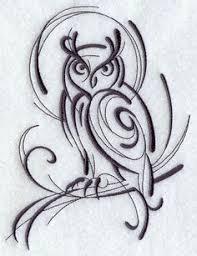más de 1000 ideas sobre geometric owl tattoo en pinterest