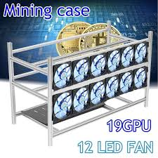 how to open a miner s l stackable open air mining rig frame miner case for 19 gpu etc bth 3