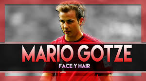 Mario Gotze Hairstyle Face Y Hair Mario Gotze 2016 Pes 2013 Youtube