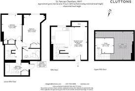 St Pancras Floor Plan 2 Bedroom Flat To Rent In St Pancras Chambers Euston Road
