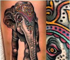 indian elephant tattoo tattoo collections