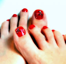 nail designs red toes nail art designs for toe and tattoo design