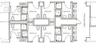 Bathroom Floor Plan Blaisdell U0026 Carr Bathroom Renovations University Housing At The