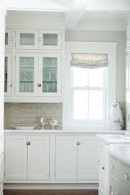 Green Subway Tile Backsplash Transitional Grey Kitchen Cabinets With Green Backsplash U2013 Quicua Com