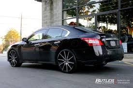 nissan maxima with rims nissan maxima with 22in lexani css15 wheels exclusively from