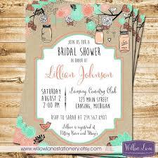 jar invitations bridal shower invitation jar bridal shower invitation