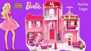 barbie dreamhouse mega bloks barbie luxury mansion barbie life in the dream house