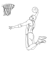 free basketball coloring pages bestappsforkids