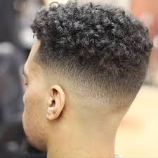 afro hairstyles taper fade taper fade curly hair latest men haircuts
