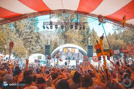 Wildfire Song Edm by Forest Fire Threatens Shambhala Music Festival Attendees