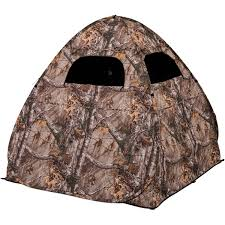 gunman blind sports u0026 outdoors hunting blinds realtree xtra
