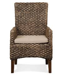 Woven Dining Chair Mix N Match Dining Chairs Woven Dining Arm Chair By Riverside