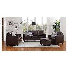 Accent Chair With Writing On It Square Arm Bonded Leather Chair Threshold Target
