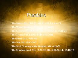 parables of the kingdom by jesus ppt video online download