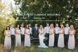 featured on style me pretty beautiful backyard wedding denise